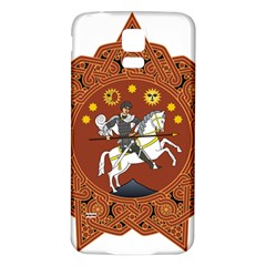 Coat of Arms of Republic of Georgia (1918-1921, 1990-2004) Samsung Galaxy S5 Back Case (White)