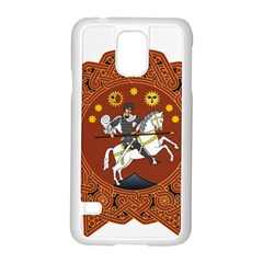 Coat of Arms of Republic of Georgia (1918-1921, 1990-2004) Samsung Galaxy S5 Case (White)