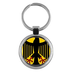 Coat of Arms of Germany Key Chains (Round)