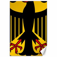 Coat of Arms of Germany Canvas 20  x 30