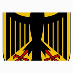 Coat of Arms of Germany Large Glasses Cloth (2-Side)