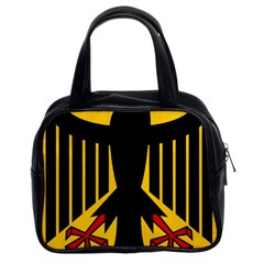 Coat of Arms of Germany Classic Handbags (2 Sides)