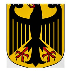 Coat of Arms of Germany Shower Curtain 66  x 72  (Large)