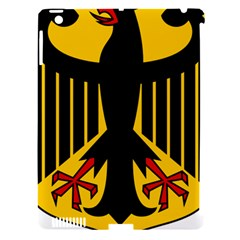 Coat of Arms of Germany Apple iPad 3/4 Hardshell Case (Compatible with Smart Cover)