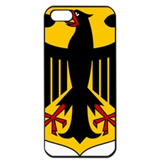 Coat of Arms of Germany Apple iPhone 5 Seamless Case (Black)