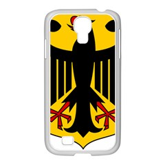 Coat of Arms of Germany Samsung GALAXY S4 I9500/ I9505 Case (White)