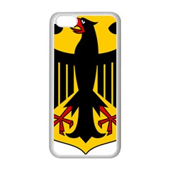 Coat of Arms of Germany Apple iPhone 5C Seamless Case (White)