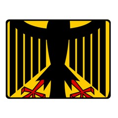Coat of Arms of Germany Double Sided Fleece Blanket (Small)