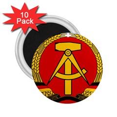 National Emblem of East Germany  2.25  Magnets (10 pack)