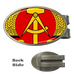 National Emblem of East Germany  Money Clips (Oval)