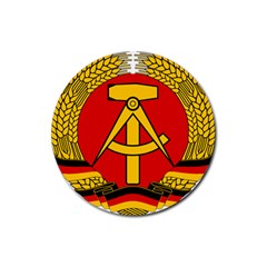 National Emblem of East Germany  Rubber Coaster (Round)