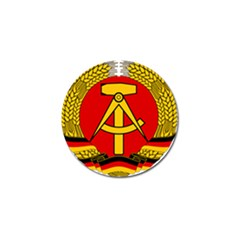 National Emblem of East Germany  Golf Ball Marker (4 pack)
