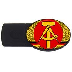 National Emblem of East Germany  USB Flash Drive Oval (1 GB)