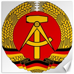 National Emblem of East Germany  Canvas 12  x 12