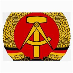 National Emblem of East Germany  Large Glasses Cloth (2-Side)