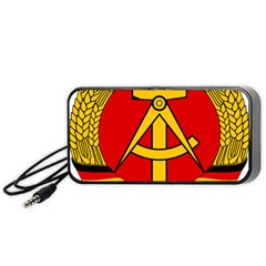 National Emblem of East Germany  Portable Speaker (Black)