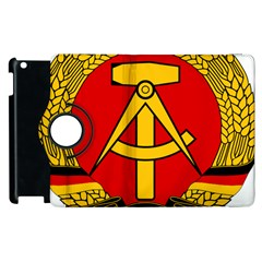 National Emblem of East Germany  Apple iPad 2 Flip 360 Case