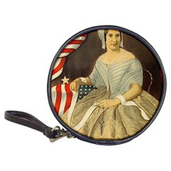 Betsy Ross Author of The First American Flag and Seal Patriotic USA Vintage Portrait Classic 20-CD Wallets