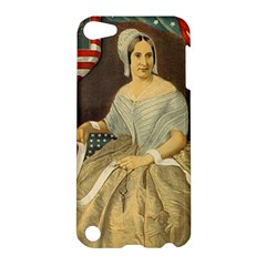 Betsy Ross Author of The First American Flag and Seal Patriotic USA Vintage Portrait Apple iPod Touch 5 Hardshell Case