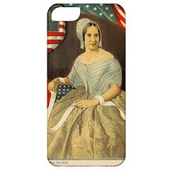 Betsy Ross Author of The First American Flag and Seal Patriotic USA Vintage Portrait Apple iPhone 5 Classic Hardshell Case