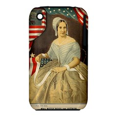 Betsy Ross Author of The First American Flag and Seal Patriotic USA Vintage Portrait iPhone 3S/3GS