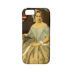Betsy Ross Author of The First American Flag and Seal Patriotic USA Vintage Portrait Apple iPhone 5 Classic Hardshell Case (PC+Silicone)