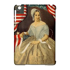 Betsy Ross Author of The First American Flag and Seal Patriotic USA Vintage Portrait Apple iPad Mini Hardshell Case (Compatible with Smart Cover)