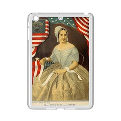 Betsy Ross Author of The First American Flag and Seal Patriotic USA Vintage Portrait iPad Mini 2 Enamel Coated Cases