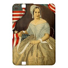 Betsy Ross Author of The First American Flag and Seal Patriotic USA Vintage Portrait Kindle Fire HD 8.9