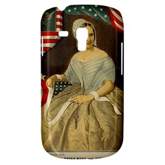 Betsy Ross Author of The First American Flag and Seal Patriotic USA Vintage Portrait Galaxy S3 Mini