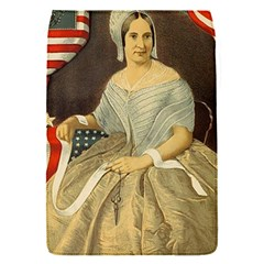 Betsy Ross Author of The First American Flag and Seal Patriotic USA Vintage Portrait Flap Covers (S)