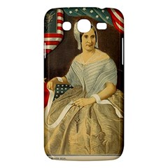 Betsy Ross Author of The First American Flag and Seal Patriotic USA Vintage Portrait Samsung Galaxy Mega 5.8 I9152 Hardshell Case