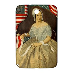 Betsy Ross Author of The First American Flag and Seal Patriotic USA Vintage Portrait Samsung Galaxy Note 8.0 N5100 Hardshell Case