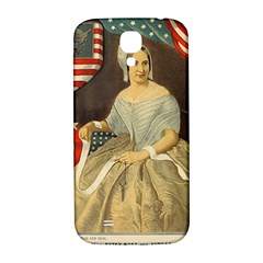 Betsy Ross Author of The First American Flag and Seal Patriotic USA Vintage Portrait Samsung Galaxy S4 I9500/I9505  Hardshell Back Case