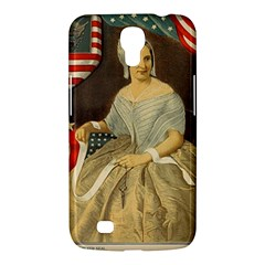 Betsy Ross Author of The First American Flag and Seal Patriotic USA Vintage Portrait Samsung Galaxy Mega 6.3  I9200 Hardshell Case