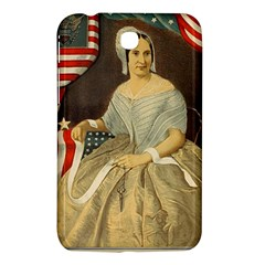 Betsy Ross Author of The First American Flag and Seal Patriotic USA Vintage Portrait Samsung Galaxy Tab 3 (7 ) P3200 Hardshell Case