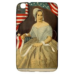 Betsy Ross Author of The First American Flag and Seal Patriotic USA Vintage Portrait Samsung Galaxy Tab 3 (8 ) T3100 Hardshell Case