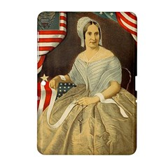 Betsy Ross Author of The First American Flag and Seal Patriotic USA Vintage Portrait Samsung Galaxy Tab 2 (10.1 ) P5100 Hardshell Case