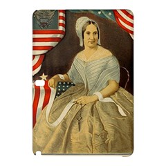 Betsy Ross Author of The First American Flag and Seal Patriotic USA Vintage Portrait Samsung Galaxy Tab Pro 10.1 Hardshell Case