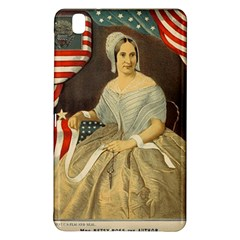 Betsy Ross Author of The First American Flag and Seal Patriotic USA Vintage Portrait Samsung Galaxy Tab Pro 8.4 Hardshell Case