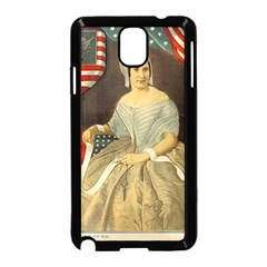 Betsy Ross Author of The First American Flag and Seal Patriotic USA Vintage Portrait Samsung Galaxy Note 3 Neo Hardshell Case (Black)