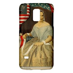 Betsy Ross Author of The First American Flag and Seal Patriotic USA Vintage Portrait Galaxy S5 Mini