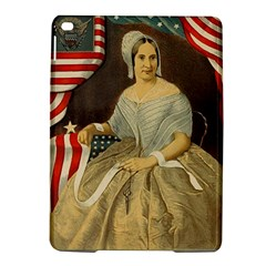 Betsy Ross Author of The First American Flag and Seal Patriotic USA Vintage Portrait iPad Air 2 Hardshell Cases