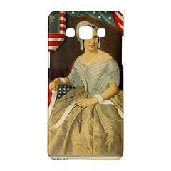 Betsy Ross Author of The First American Flag and Seal Patriotic USA Vintage Portrait Samsung Galaxy A5 Hardshell Case
