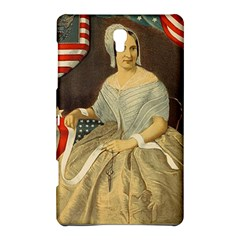 Betsy Ross Author of The First American Flag and Seal Patriotic USA Vintage Portrait Samsung Galaxy Tab S (8.4 ) Hardshell Case