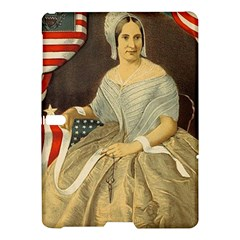Betsy Ross Author of The First American Flag and Seal Patriotic USA Vintage Portrait Samsung Galaxy Tab S (10.5 ) Hardshell Case