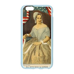 Betsy Ross Author of The First American Flag and Seal Patriotic USA Vintage Portrait Apple Seamless iPhone 6/6S Case (Color)