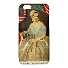 Betsy Ross Author of The First American Flag and Seal Patriotic USA Vintage Portrait iPhone 6/6S TPU Case