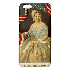 Betsy Ross Author of The First American Flag and Seal Patriotic USA Vintage Portrait iPhone 6 Plus/6S Plus TPU Case
