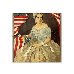 Betsy Ross Author of The First American Flag and Seal Patriotic USA Vintage Portrait Satin Bandana Scarf